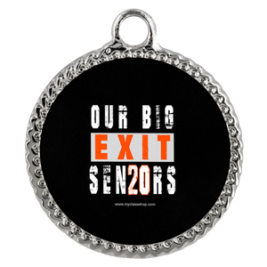 Our Big Exit - Graduation Charm Necklaces