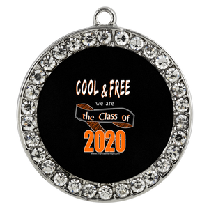 Cool and Free - Graduation Pendant Necklace