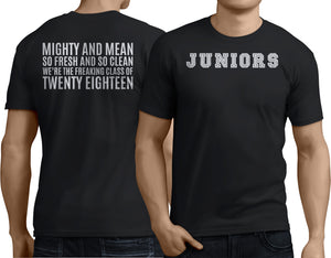 Juniors Mighty And Mean - Class of 2018 - My Class Shop