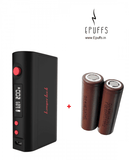 Combo Kbox 200W TC + 2 x LG HG2 Batteries - Epuffs
