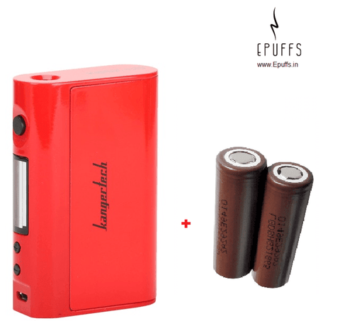 Combo Kbox 120W TC + 2 x LG HG2 Batteries - Epuffs