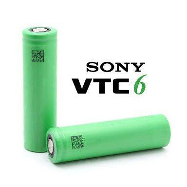 Authentic IMR Sony VTC-6 18650 Batteries