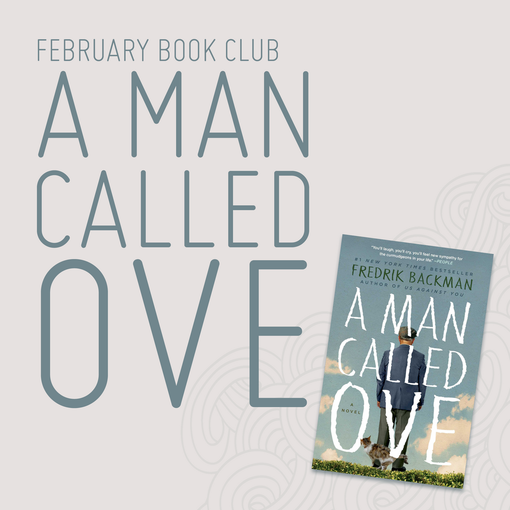February Book Club - A Man Called Ove by Fredrik Backman
