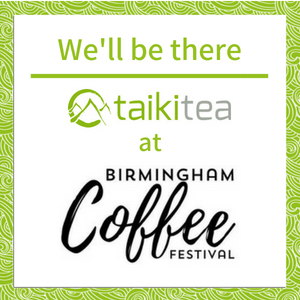 Taiki Tea at Birmingham Coffee Festival