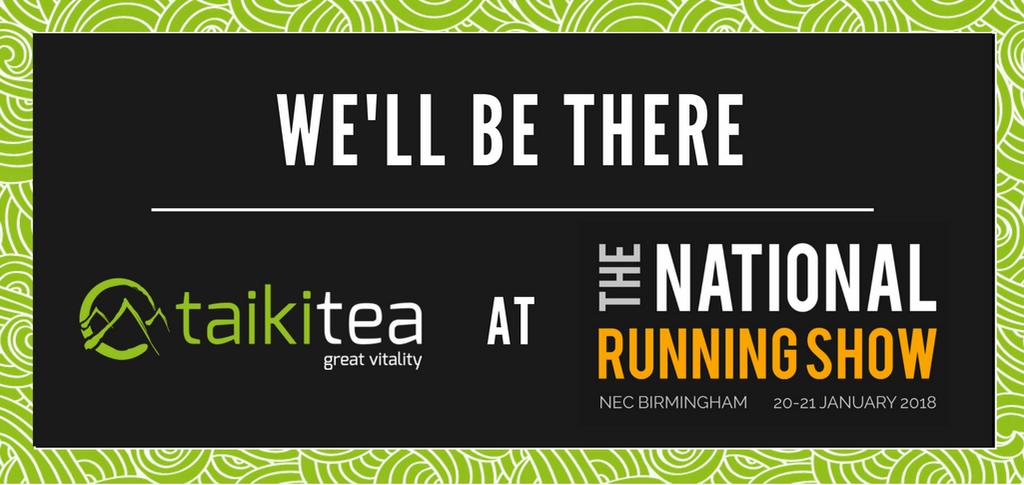 Taiki Tea at The National Running Show