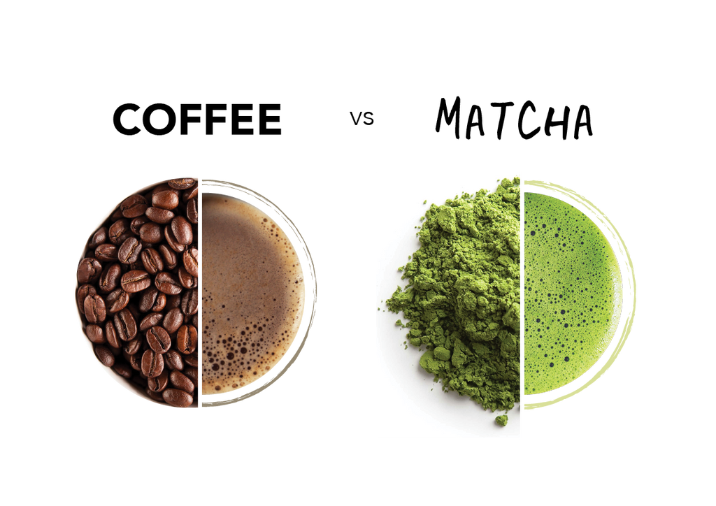 Coffee vs Matcha