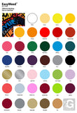 "5 Yards Heat Transfer Vinyl Siser EasyWeed 15"" Cricut Die cut CraftROBO on Cotton or Polyester mesh and Poly-blend fabrics (Mix & Match colors) - gercuttervinyl"