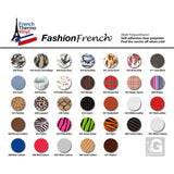 "5 yards French Thermo Vinyl ""Fashion French"" Heat Transfer Vinyl (Mix & Match your favorite colors) - gercuttervinyl"