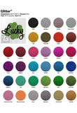 "6 Yards Siser Glitter Heat Transfer Vinyl 20"" (Mix & Match your favorite colors) - gercuttervinyl"
