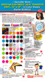 "GERCUTTER Store - Siser EasyWeed® Heat Transfer Vinyl, 12"" x 12"" - 12 Color Sheets Starter BUNDLE - gercuttervinyl"