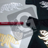 "GERCUTTER Store - ""Siser EasyWeed Foil"", 2 Sheets (12"" x 15"" x 2 Sheets) T-Shirt Iron-on Heat Transfer Vinyl - gercuttervinyl"