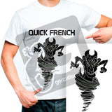 "10 yards French Thermo Vinyl ""Quick French"" Heat Transfer Vinyl - Cricut Die cut CraftROBO on Cotton or Polyester mesh and Poly-blend fabrics (Mix & Match your favorite colors) - gercuttervinyl"
