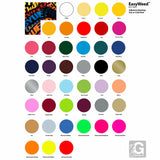 "GERCUTTER Store - Siser EasyWeed® Iron-on HTV Heat Transfer Vinyl 12"" wide x 1 yard - gercuttervinyl"