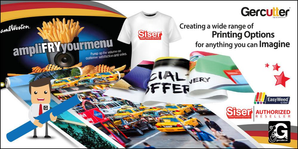 Printing Options for anything you can imagine - Siser EasyWeed