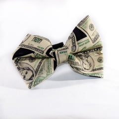 Dollar Dog Bow Tie