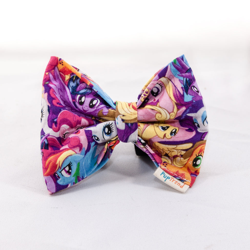 My Little Pony Dog Bow Tie