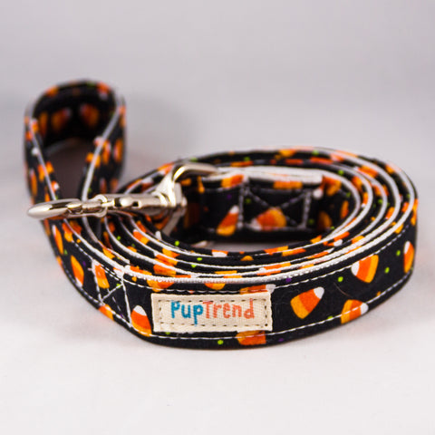 Candy Corn Designer Dog Leash 6' - CLEARANCE! 50% OFF!