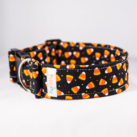 Candy Corn Designer Dog Collar - CLEARANCE! - 50% off!