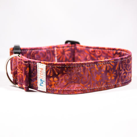 Batik Designer Dog & Cat Collar