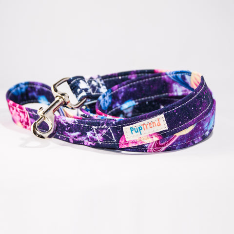Galaxy Designer Dog Leash 6'