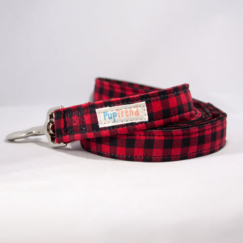 Buffalo Plaid Designer Dog Leash 6'