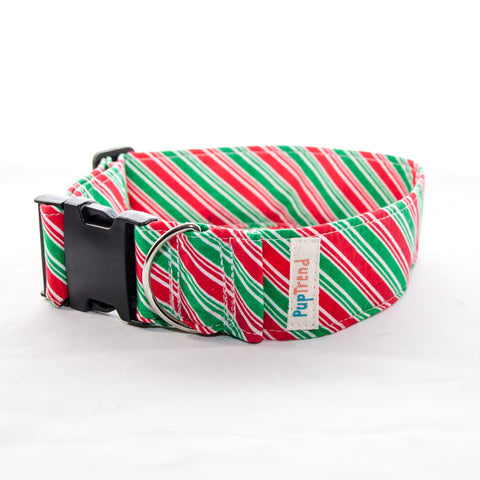 Christmas Designer Dog Collar