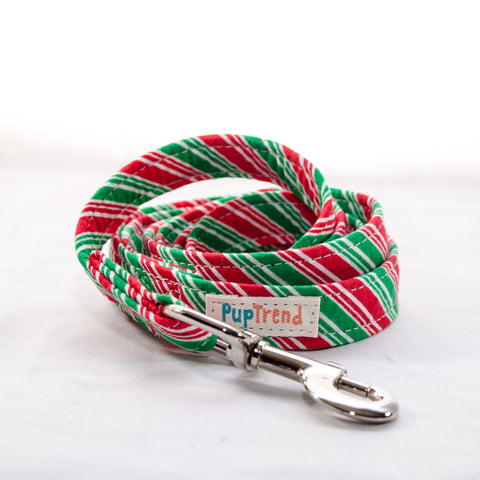 Christmas Designer Dog Leash 6'