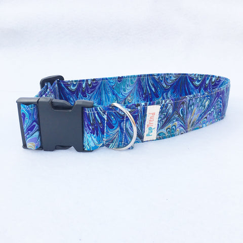 Artisan Blue Designer Dog & Cat Collar