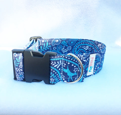 Blue Bandana Designer Dog & Cat Collar