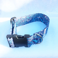 Blue Bandana Dog & Cat Collar