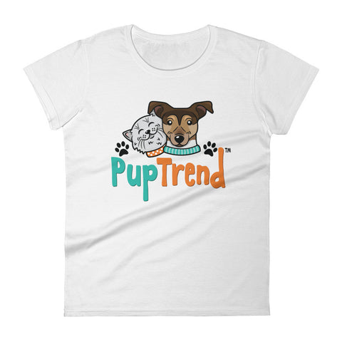 Women's short sleeve Pup Trend  t-shirt