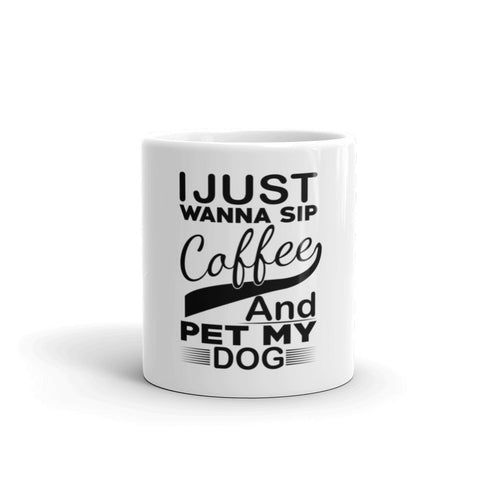 Pet My Dog Coffee Mug