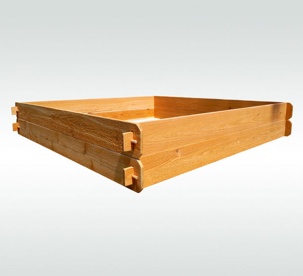 Timberlane Gardens Raised Garden Bed Kit Large Double Deep (Two 6x6) Western Red Cedar - Timberlane Gardens