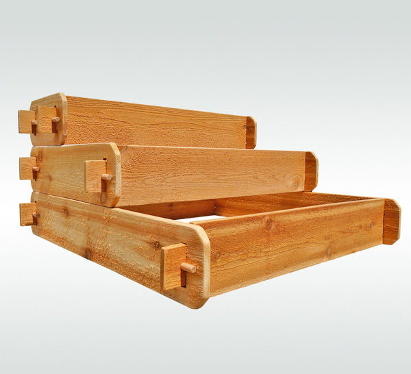 3 Tier (1x3, 2x3, 3x3) Raised Garden Bed Kit