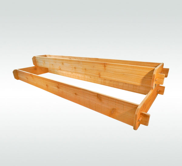 2 Tier (1x6, 2x6) Raised Garden Bed Kit