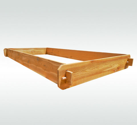 Timberlane Gardens Raised Garden Bed Kit 3x6 All Natural Western Red Cedar Handcrafted - Timberlane Gardens