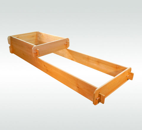 Timberlane Gardens Raised Garden Bed Kit 2 Tiered (2x3 2x6) Western Red Cedar - Timberlane Gardens