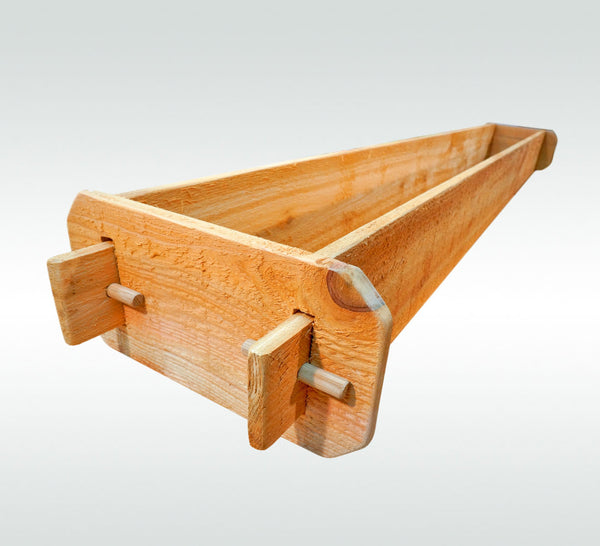 Timberlane Gardens Raised Garden Bed Kit 1x6 All Natural Western Red Cedar Handcrafted - Timberlane Gardens