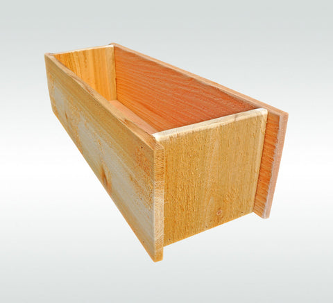 Herb Garden Cedar Wooden Window Planter Flower Box Gift for Gardener Gift - Timberlane Gardens