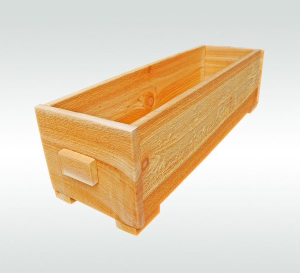 Fairy Herb Garden Cedar Wooden Window Wood Planter Flower Box Pot Gift for Gardener Gift - Timberlane Gardens