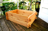 Timberlane Gardens Raised Garden Bed Kit Double Deep (Two 2x3) Western Red Cedar - Timberlane Gardens