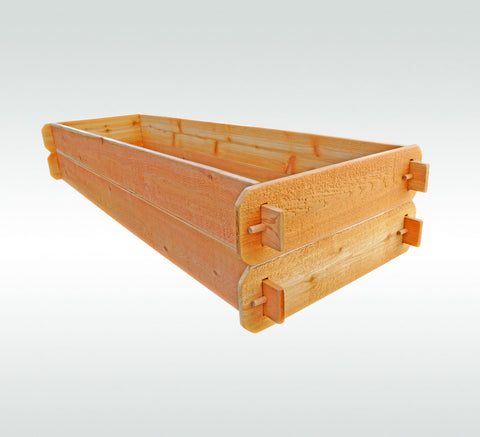 Timberlane Gardens Raised Garden Bed Kit Double Deep (Two 2x6) Western Red Cedar - Timberlane Gardens