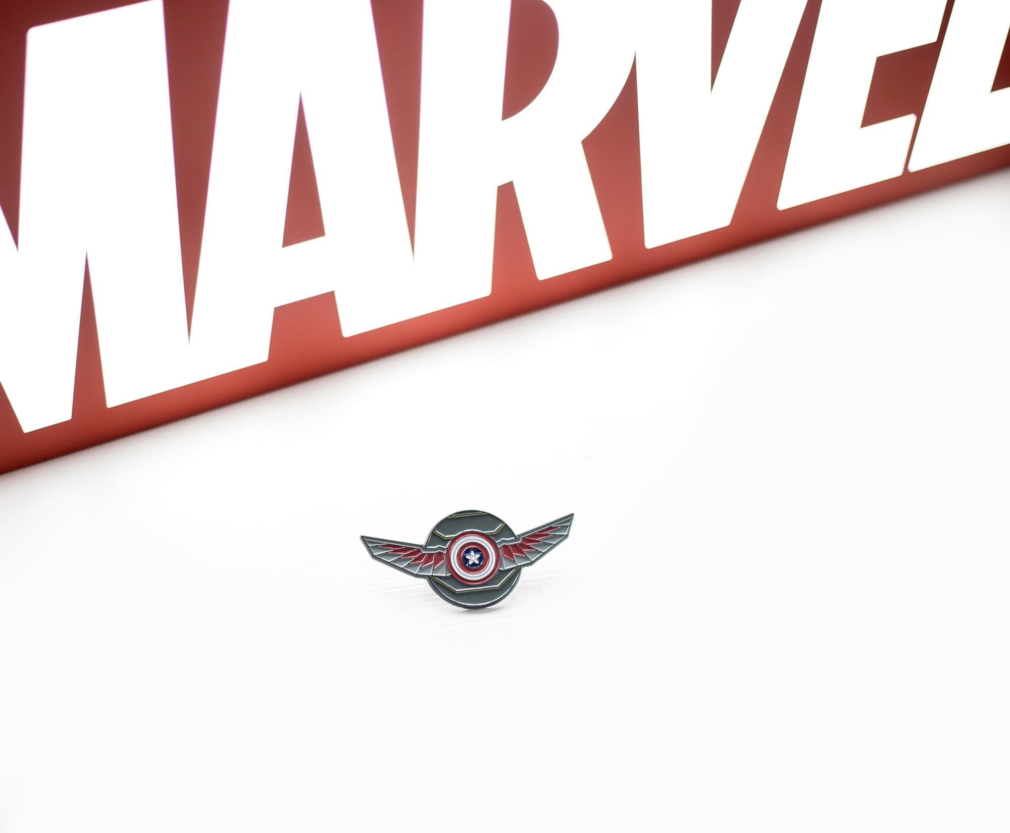 Exclusive: 'The Falcon and the Winter Soldier' Premiere Pin Reveal