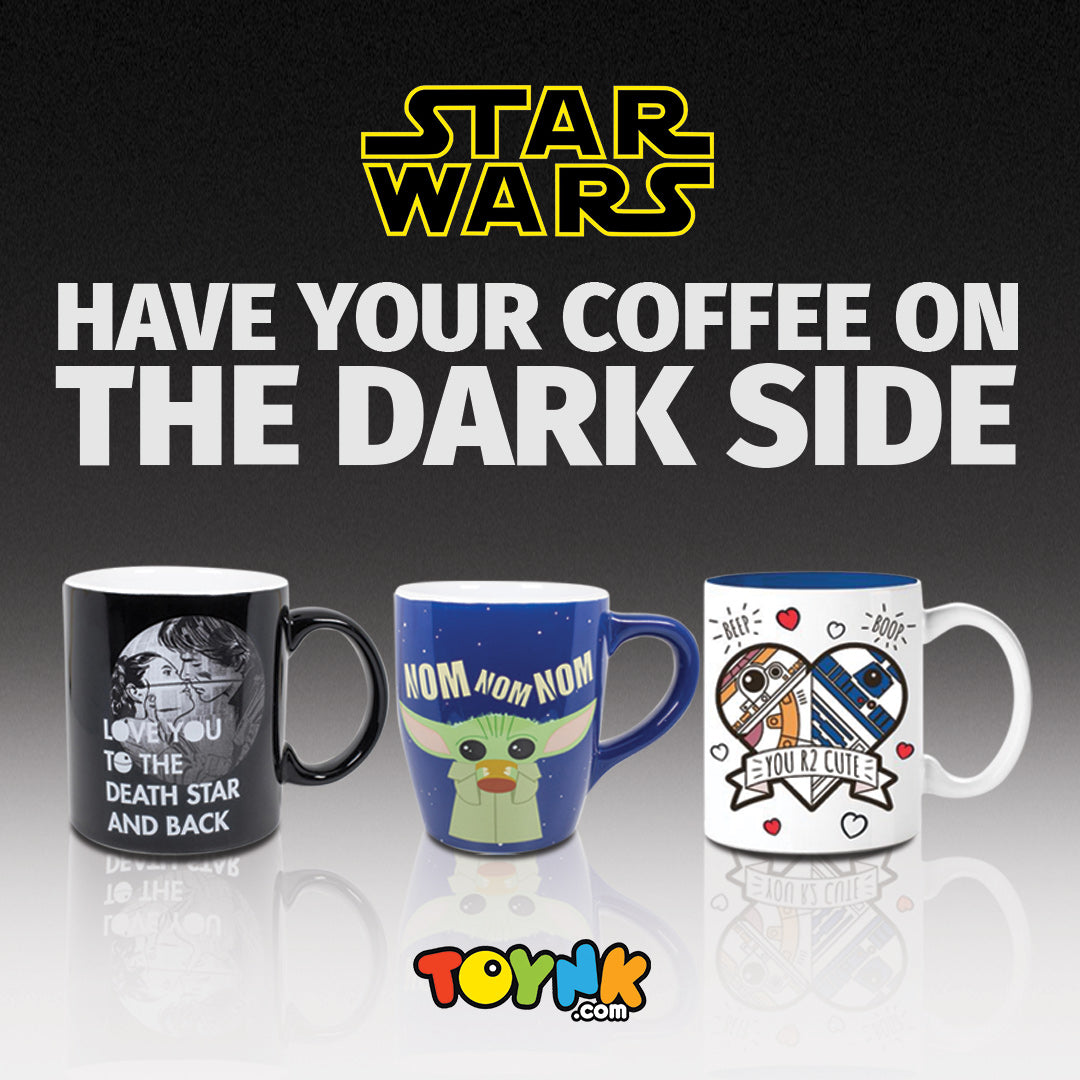 Our Star Wars Kitchen Collection Welcomes You to The Dark Side- Of Coffee