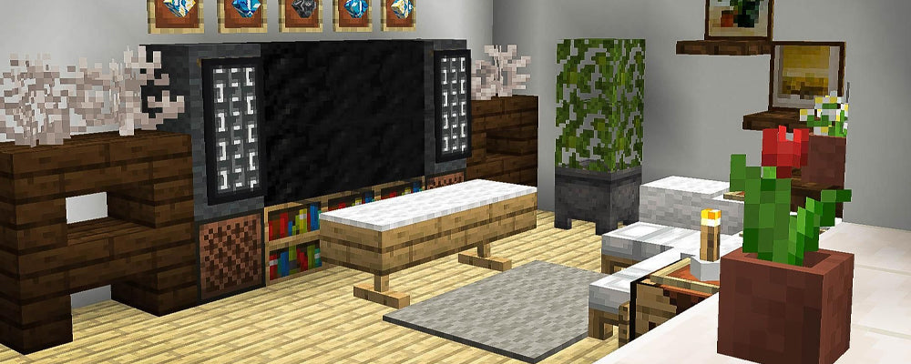 How to Decorate Your House the Minecraft Way - Ideas for Each Room