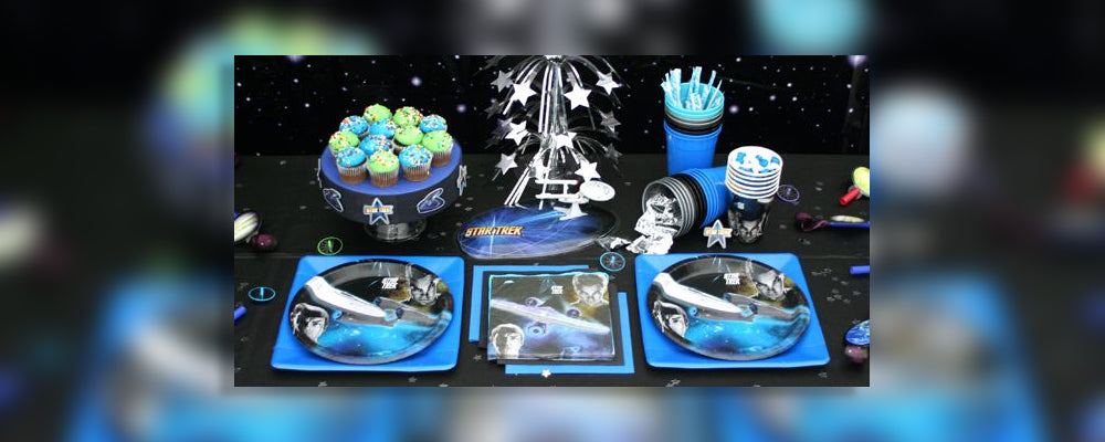 How to Throw a Star Trek Birthday Party - Special Treats Included