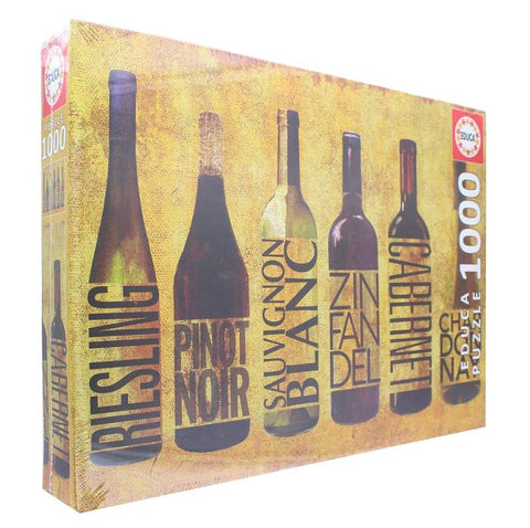 All Wined Up 1000 Piece Jigsaw Puzzle