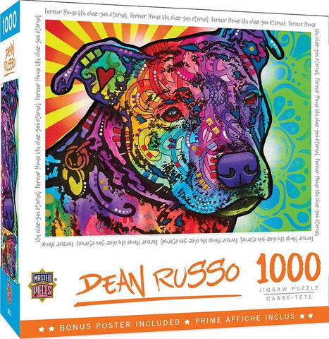 Dean Russo Forever Home 1000 Piece Jigsaw Puzzle