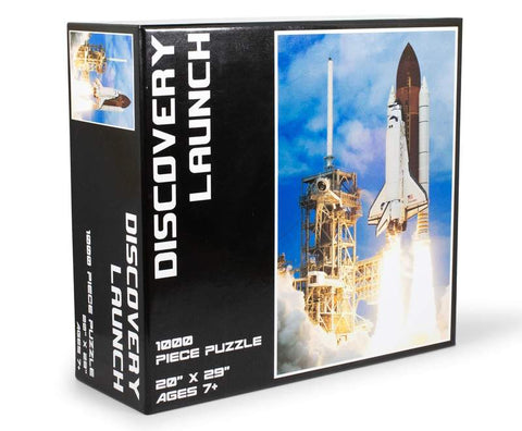 Discovery Launch NASA Space Shuttle 1000 Piece Jigsaw Puzzle