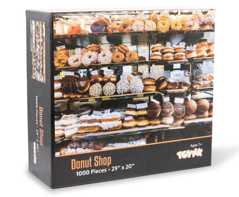Donut Shop Bakery Puzzle For Adults And Kids 1000 Piece Jigsaw Puzzle
